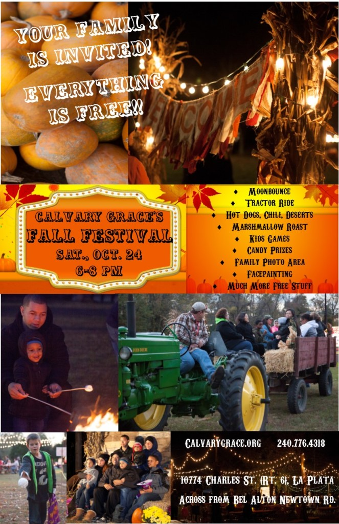 2015 CG Church Community Fall Fest Flyer